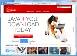 Click the link - Do I have Java?
