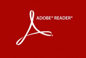 Adobe Reader Logo adobeReader-logo Adobe issues