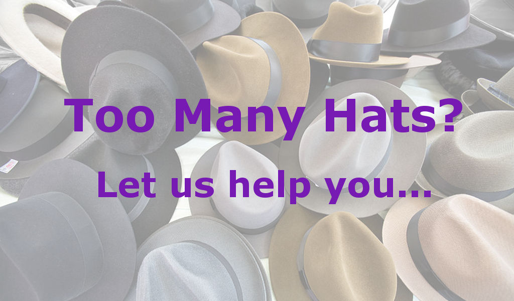 Business owners & CEOs often wear many hats, let us take one from you